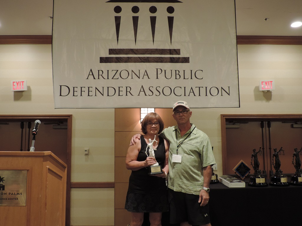 Outstanding Administrative Professional (Rural) - Pinal County Public Defender Legal Secretary Linda Lira