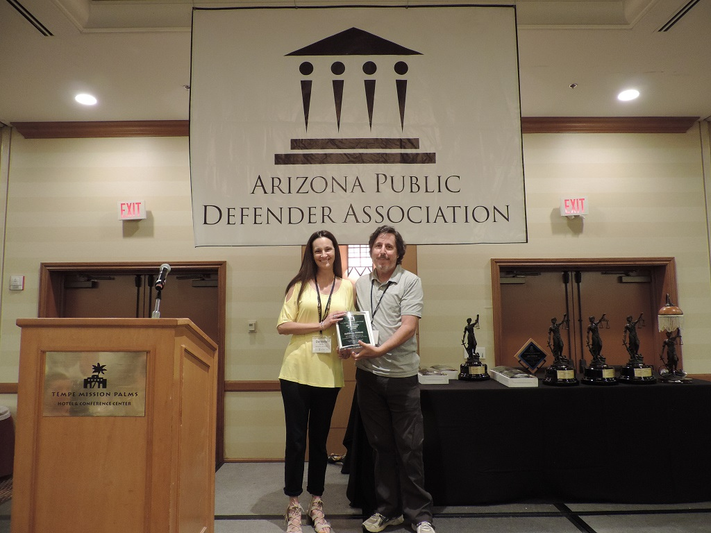 Outstanding Attorney (Urban) - Maricopa County Legal Defender Attorney Daniella Ferrari