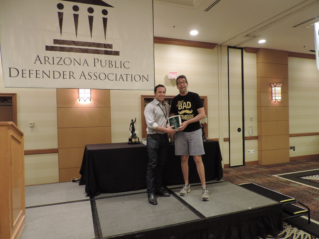 Outstanding Performance/Contribution - Pima Public Defender Attorney Howard Wine