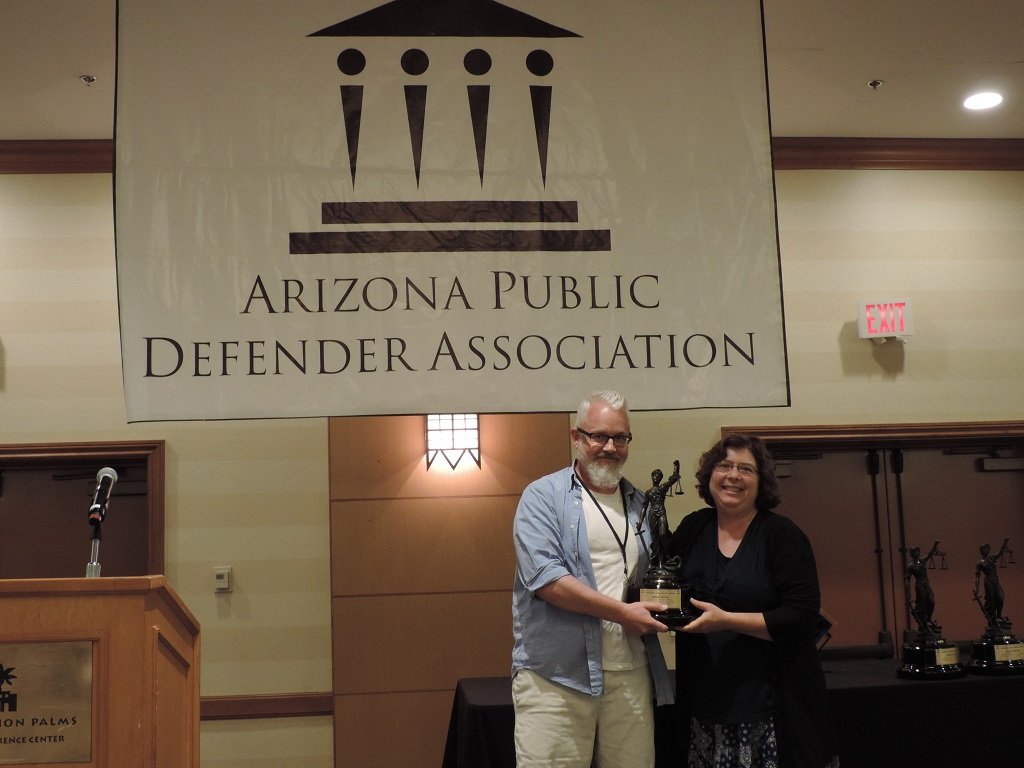 Lifetime Achievement (Rural) - Attorney Benna Troup, Cochise County Legal Defender
