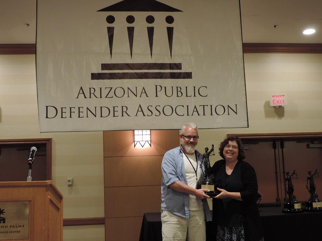 Lifetime Achievement (Rural) - Attorney Benna Troup, Cochise County Legal Defender