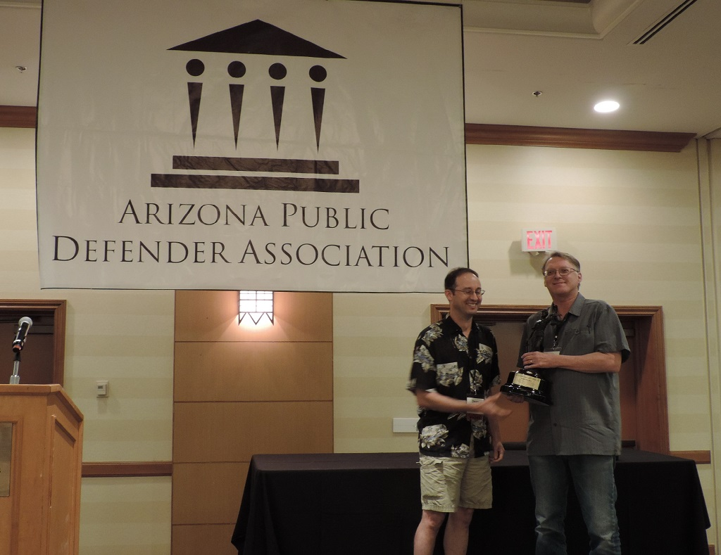 LIfetime Achievement (Urban) - Attorney Robb Holmes, Pima County Legal Defender